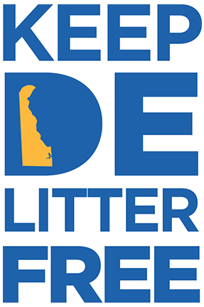 Image of the the Litter Free DE logo