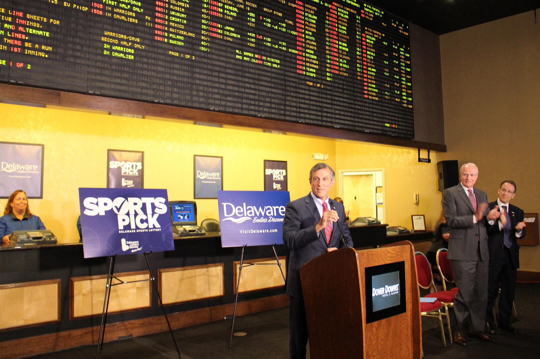 Delaware Launches Full-Scale Sports Gaming