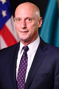 Secretary Jeffrey W. Bullock - Department of State headshot