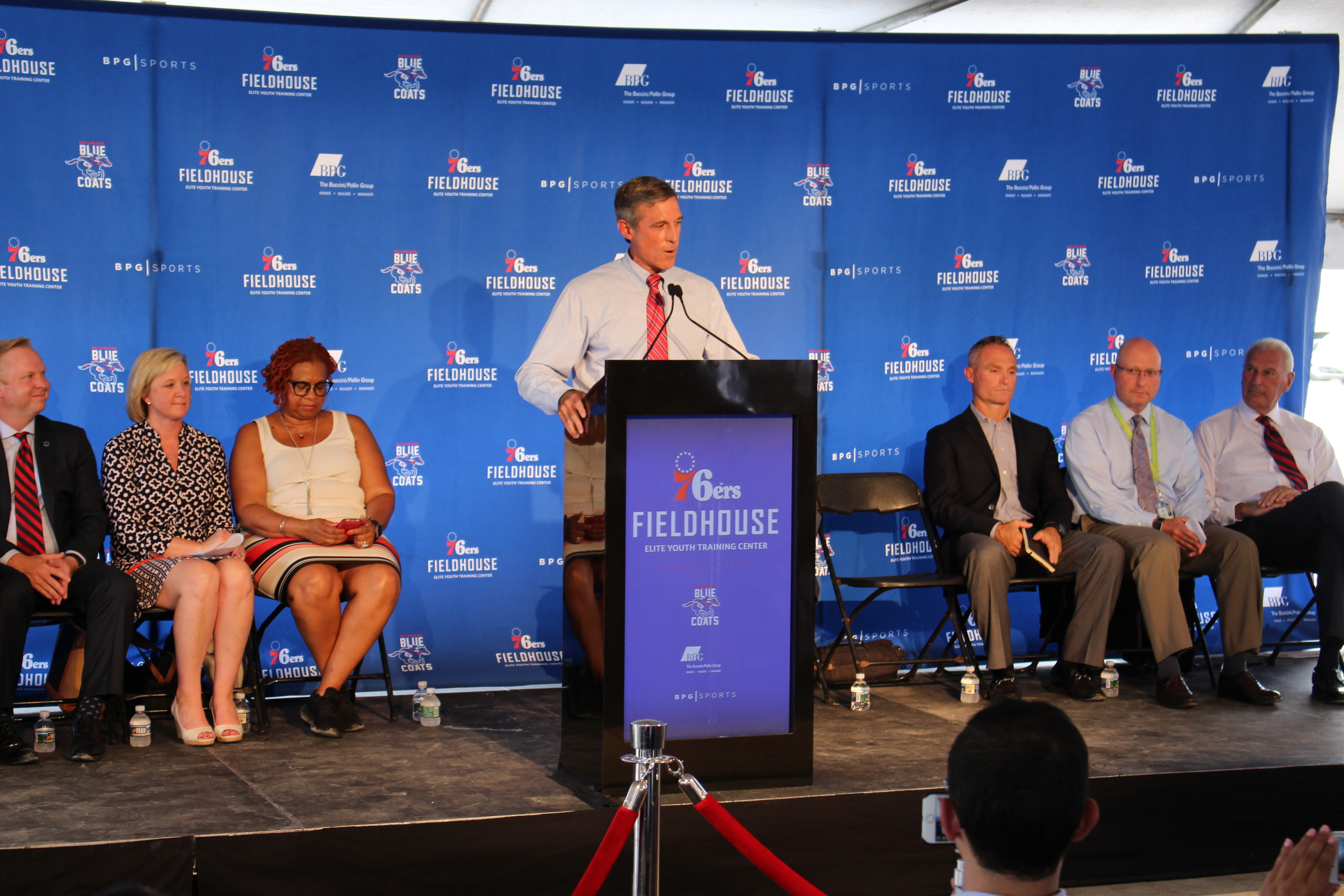76ers Fieldhouse Moves Forward