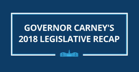 Governor Carney's Legislative recap