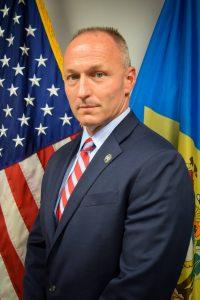 Portrait of Department of Correction Commissioner Monroe B. Hudson, Jr.